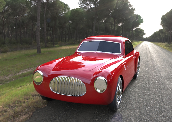 Cisitalia JDR Paris - Voitures circulaires made in France, tether cars en fonte d'aluminium